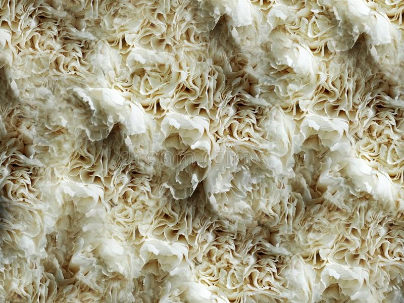 Белым дизайн предпосылки цветка гвоздики текстурированный конспектом металлический, иллюстрация стоковые фото