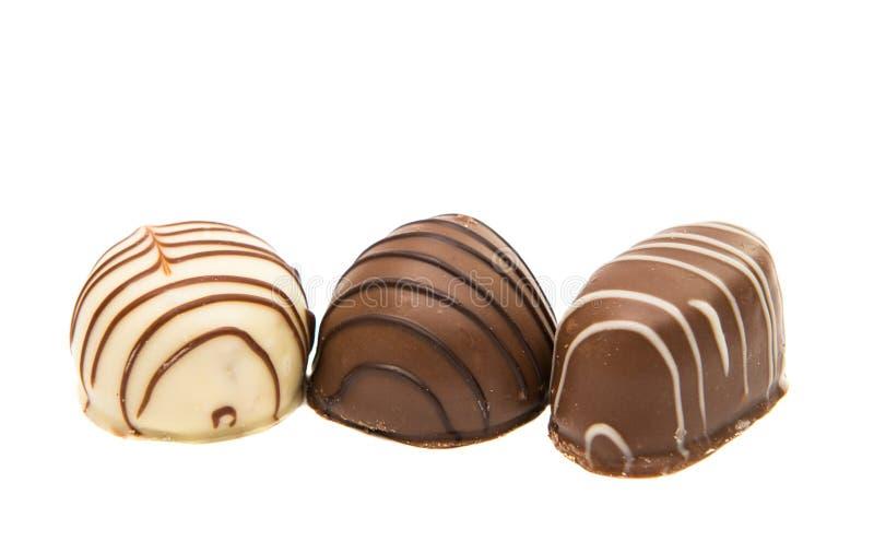 бельгийские шоколады стоковое изображение rf