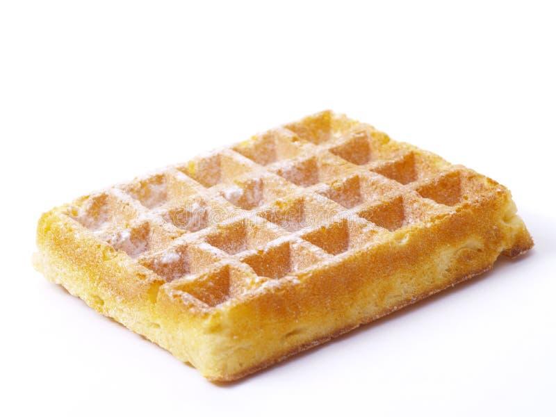 бельгийский waffle стоковая фотография