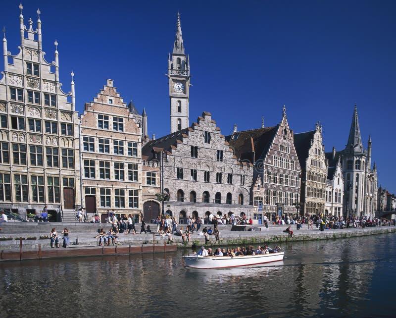 Бельгия ghent стоковые фотографии rf