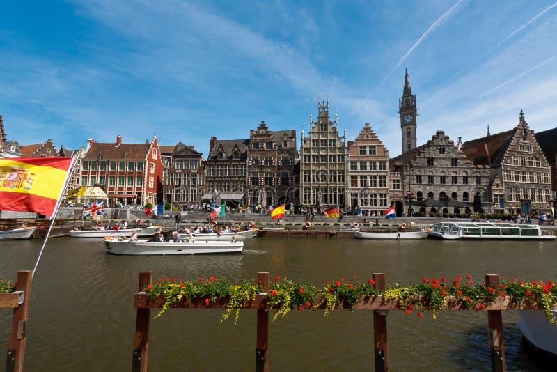 Бельгия ghent стоковая фотография