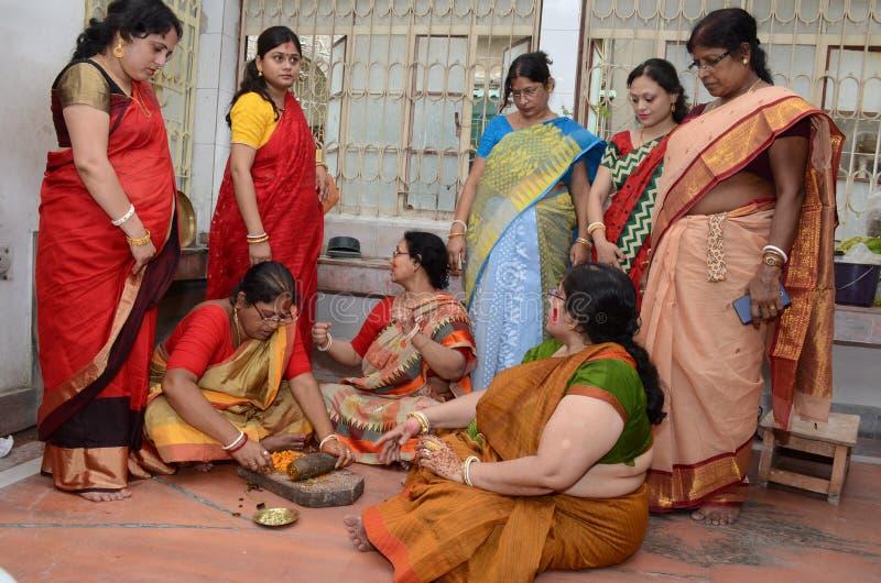 Бенгальские женщины стоковое изображение