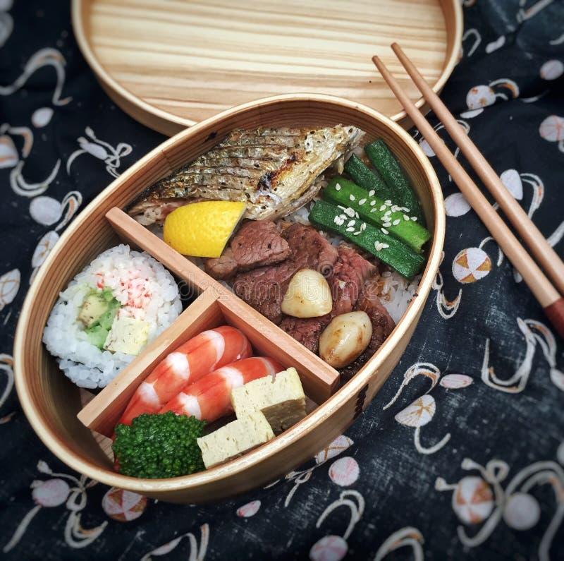 Бенто японца удобное стоковые изображения rf