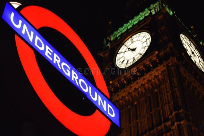 Бен Лондона подземное и большое стоковое изображение rf