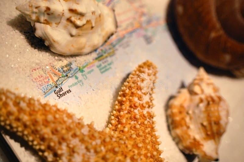 Берега залива, Алабама стоковое изображение rf