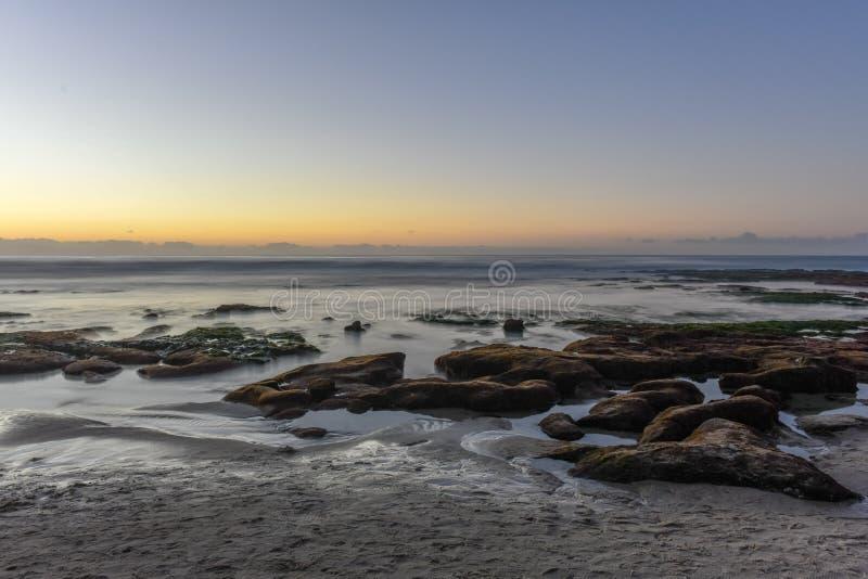 Берега La Jolla - Сан-Диего, Калифорния стоковая фотография rf