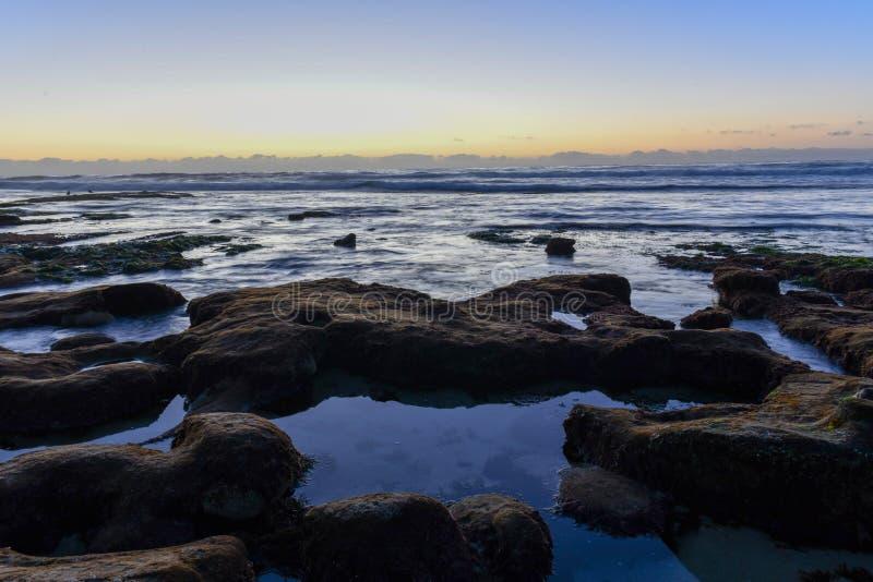 Берега La Jolla - Сан-Диего, Калифорния стоковые фотографии rf