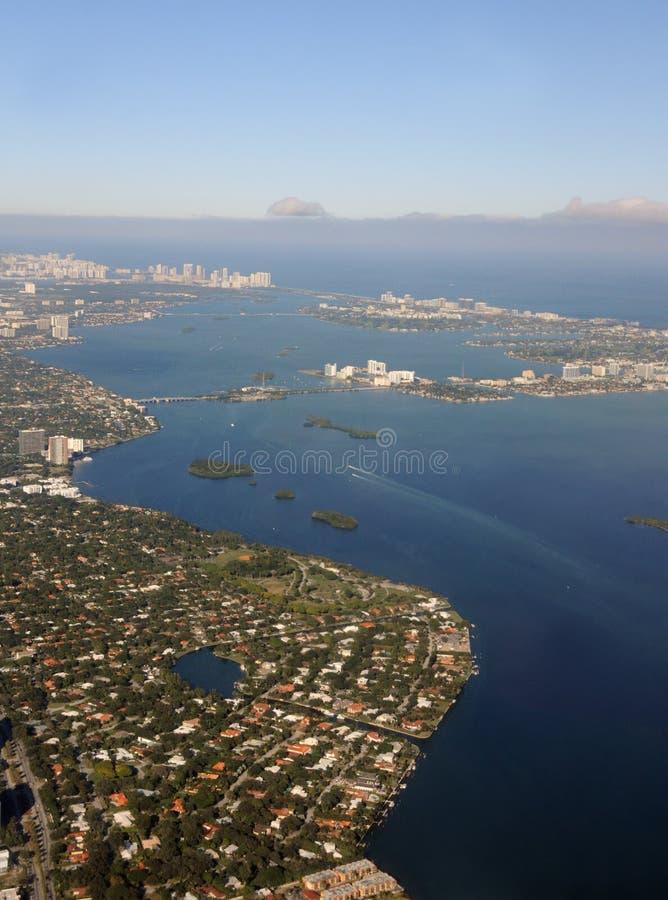Береговая линия Флорида стоковая фотография