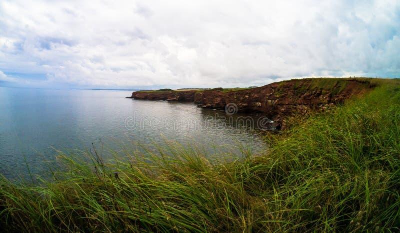 Береговая линия Prince Edward Island стоковое фото