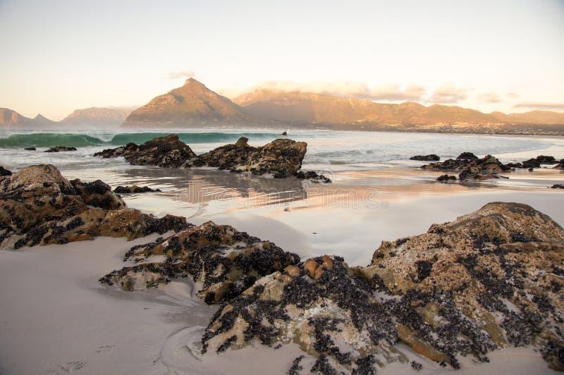 береговые породы песочные стоковое изображение