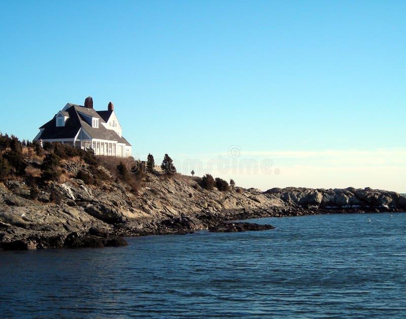 берег дома стоковая фотография rf