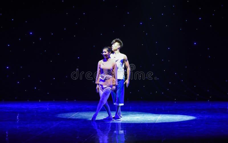 Берег желтого Рек-современного танца стоковое фото rf