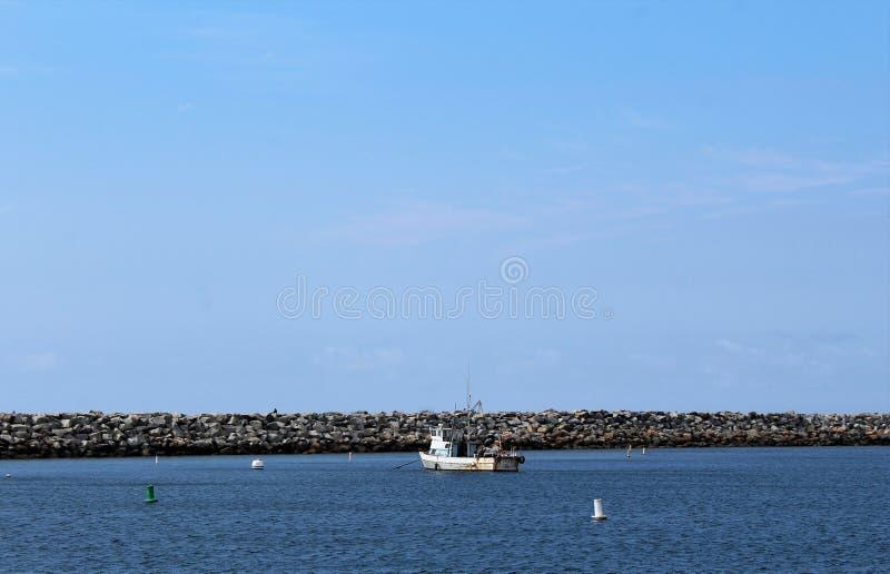 Берег океана Portifino Калифорния в Redondo Beach, Калифорния, Соединенных Штатах стоковое фото rf