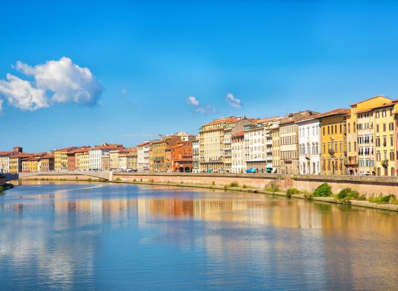 Берег реки Флоренса стоковое изображение rf