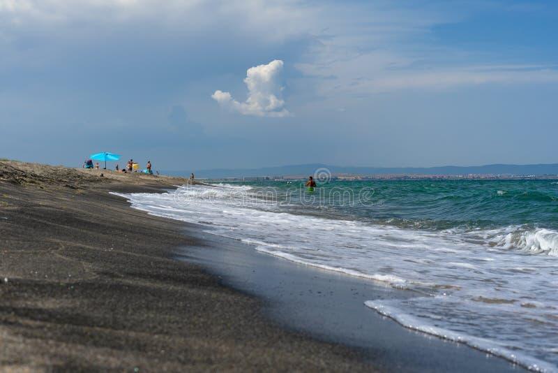 Берег Чёрного моря bulbed стоковая фотография