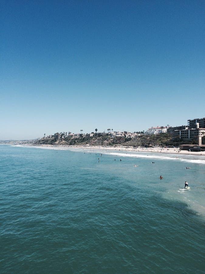 Берег San Clemente стоковые фото
