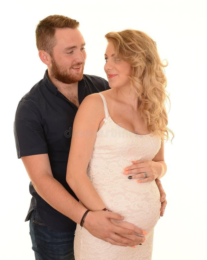 беременная женщина супруга стоковое изображение