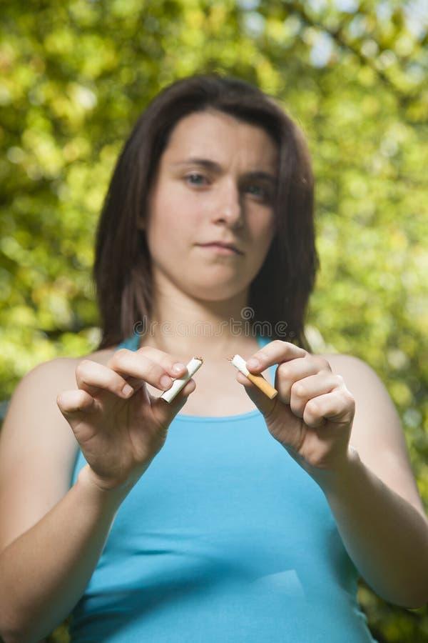 Беременный табак стопа стоковое фото