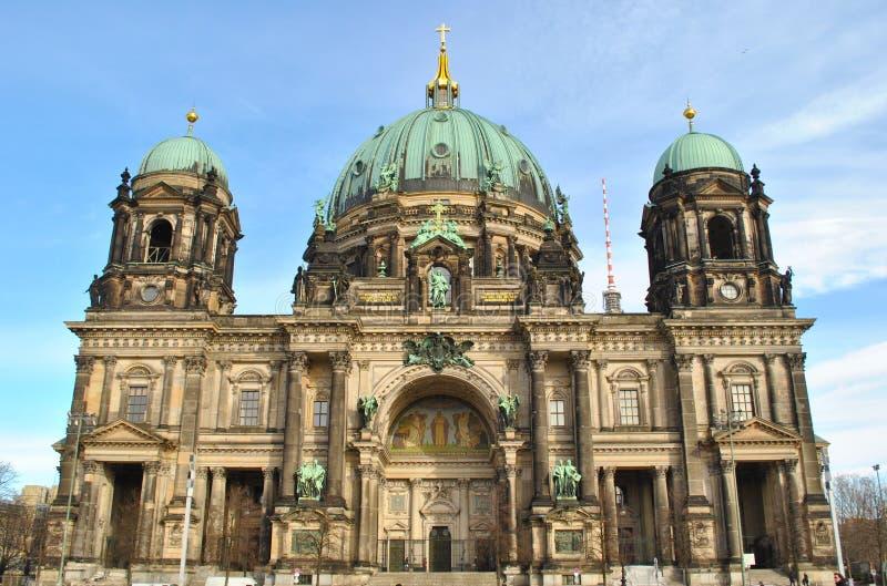 Берлинец Dom в Берлин, Германии стоковое изображение rf