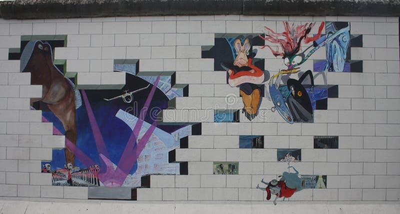 Берлинская стена стоковое изображение rf
