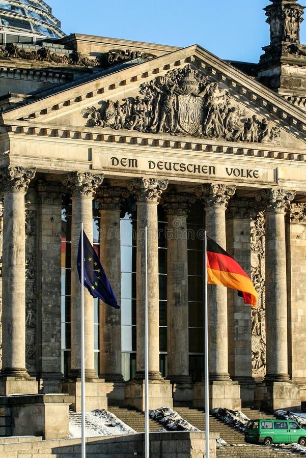 01 02 2011, Берлин, Германия Известные визирования Берлина Архитектура Германии стоковые фото