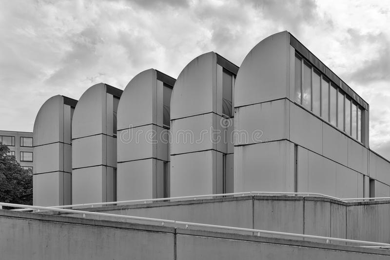 БЕРЛИН, ГЕРМАНИЯ - ИЮЛЬ 2015: Архив Баухауза, музей Desi стоковая фотография rf