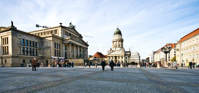 Берлин, панорама Германия Konzerthaus стоковая фотография