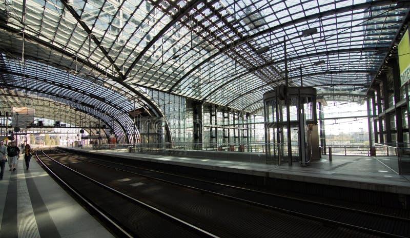 Берлин Hauptbahnhof стоковое изображение rf