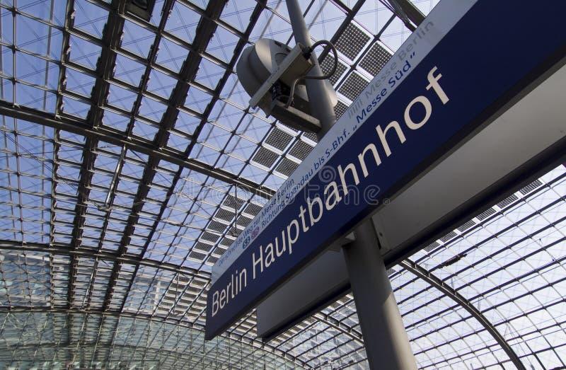 Берлин Hauptbahnhof стоковая фотография