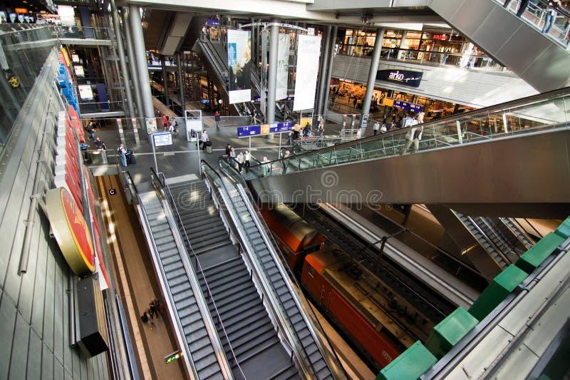 Берлин Hauptbahnhof стоковое изображение