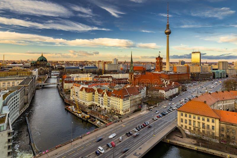 Берлин Mitte стоковые изображения rf