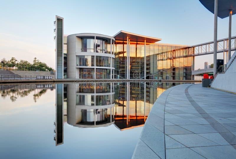 Берлин, Германия - 20-ое августа 2015 Дом Пола Loebe и стоковые изображения