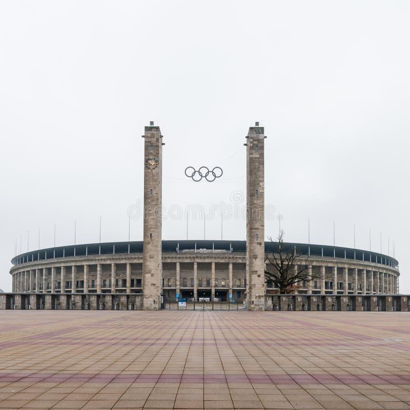 Берлин, стадион Олимпии стоковое изображение rf