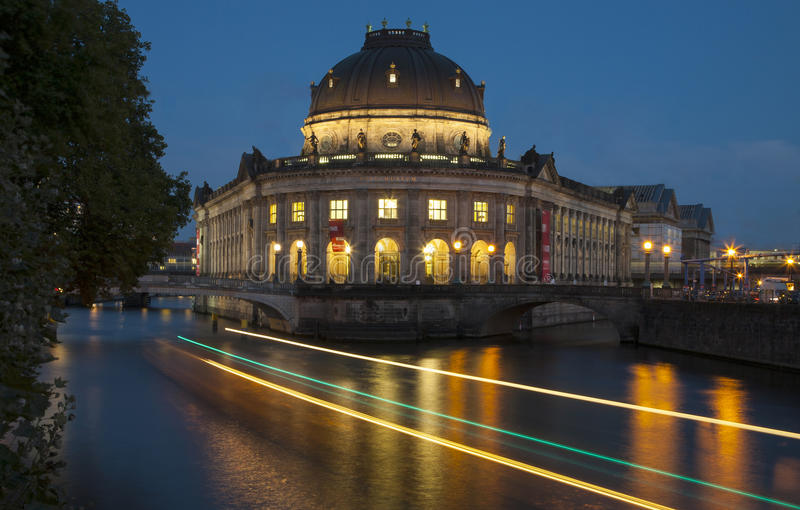 Берлин Bodemuseum стоковые изображения rf