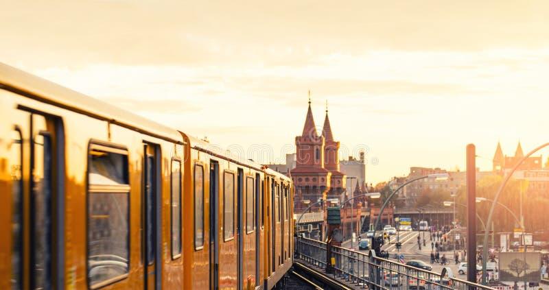 Берлин | Friedrichshain стоковое изображение rf