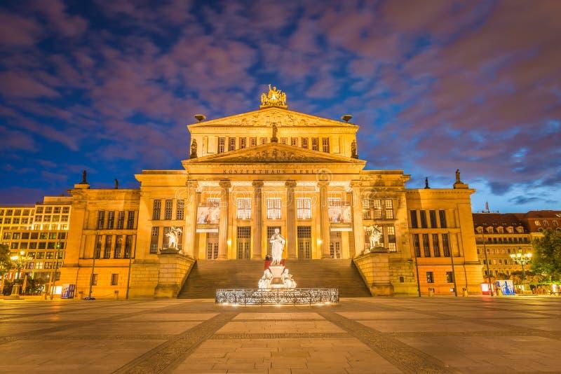 Берлин, Gendarmenmarkt стоковые фотографии rf