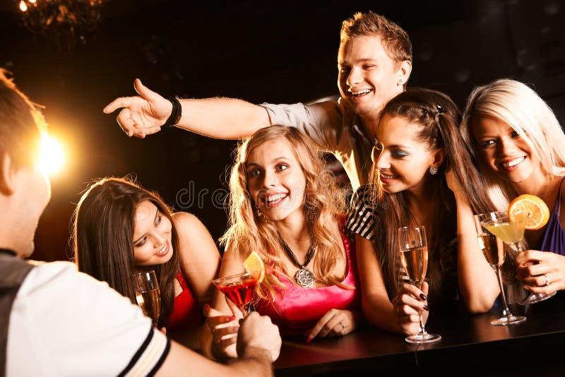 беседуя подросток стоковые фото