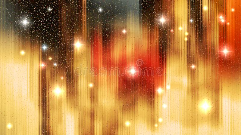 Бесконечная текстура рождества звезд иллюстрация штока