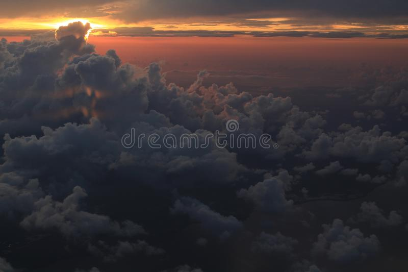 Бесконечное небо стоковая фотография rf