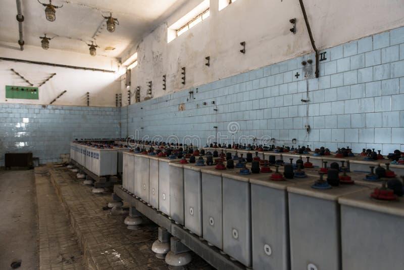 Бесперебойные батареи электропитания стоковые фотографии rf