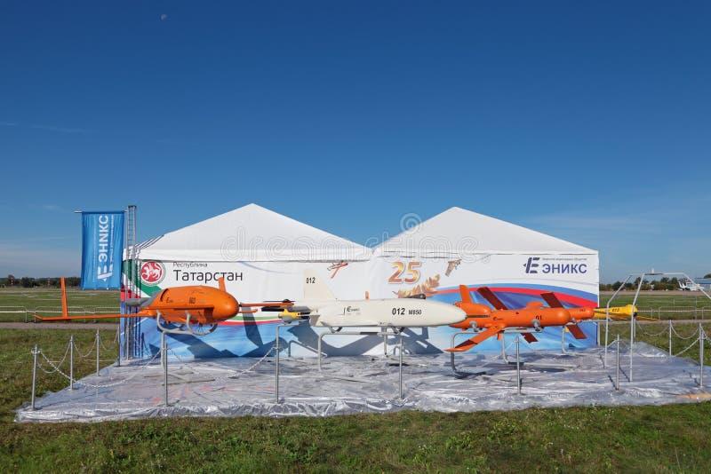 Беспилотные воздушные корабли стоковые изображения rf