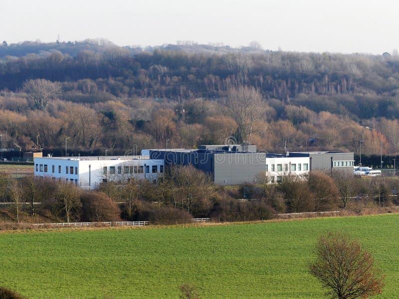 Бесплатная школа достигаемости, длинная майна, конец мельницы, Rickmansworth стоковая фотография