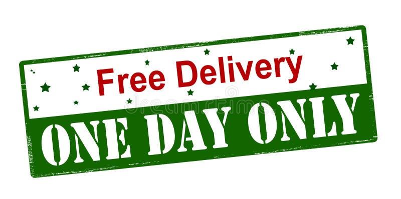 Бесплатная доставка один день только бесплатная иллюстрация