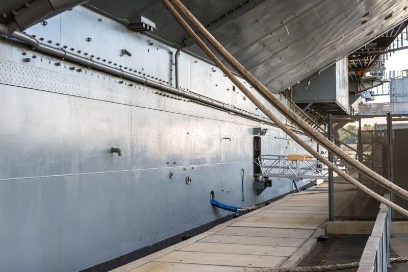 Бестрепетный музей моря, воздуха и космоса, Нью-Йорк стоковая фотография rf