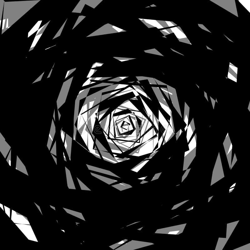 Download Бесцветная абстрактная нервная иллюстрация, грубая Monochrome текстура Иллюстрация вектора - иллюстрации насчитывающей сложно, monochrome: 81808787