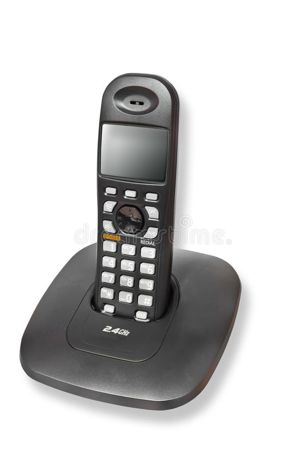 бесшнуровой телефон стоковая фотография