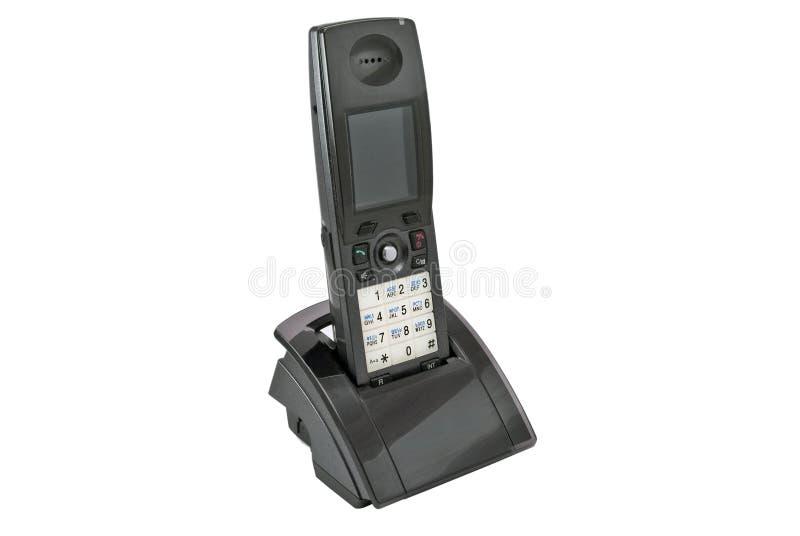 бесшнуровой цифровой самомоднейший телефон стоковая фотография