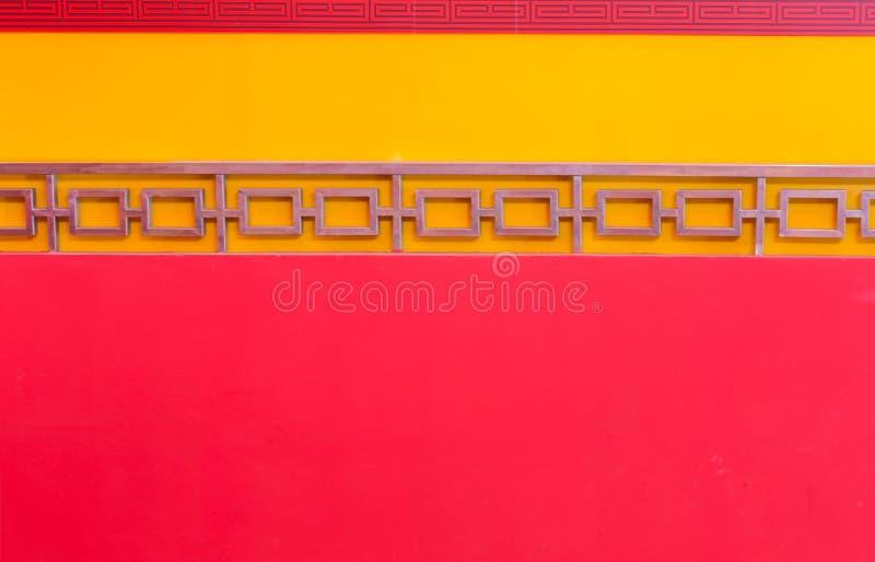 Бетонная стена с красной предпосылкой стоковые фотографии rf