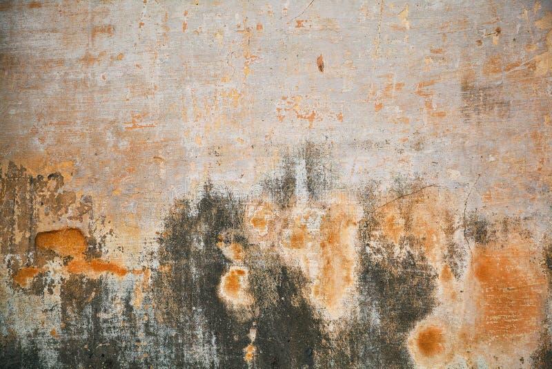 Бетонная стена творческой предпосылки старая запятнанная покрашенная поверхность, стена стоковое изображение rf
