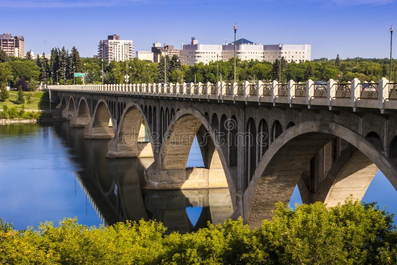 бетон моста стоковая фотография